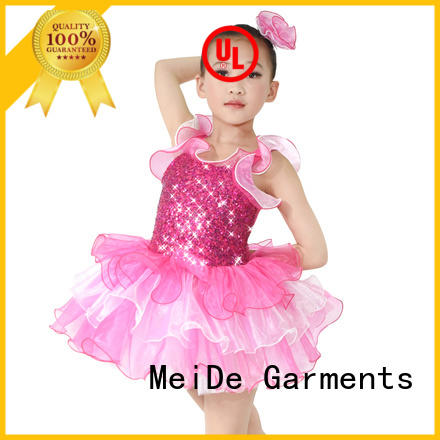 MIDEE highlow toddler ballet outfit factory price dancer