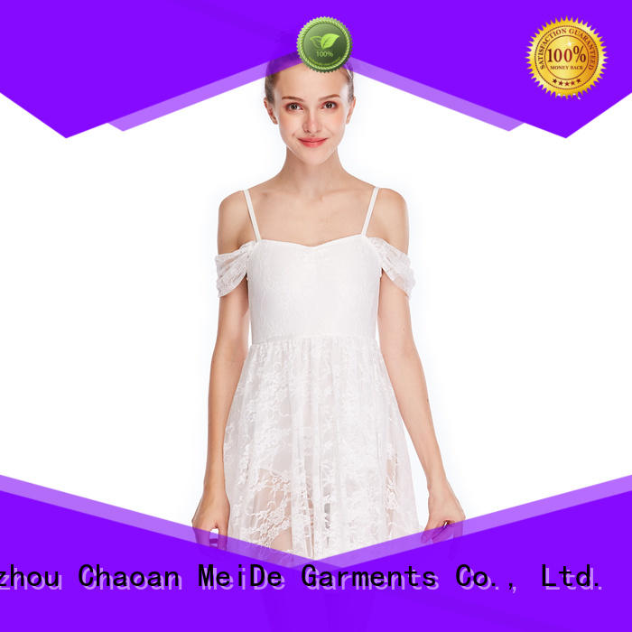 MIDEE OEM lyrical dance outfits dance clothes competition