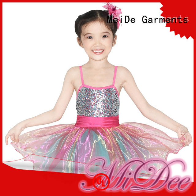 MIDEE comfortable toddler ballet leotards odm competition