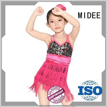 OEM custom lyrical dance costumes sequined custom performance