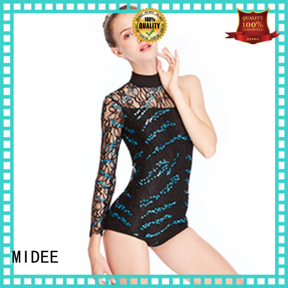 MIDEE professional dress jazz dance outfits customization dancer