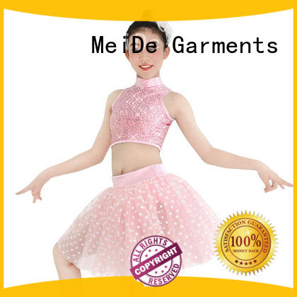 MIDEE waistband girls ballet costume odm dancer