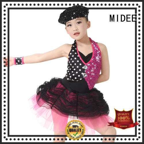 MIDEE anti-wear ballet costumes for kids costume show