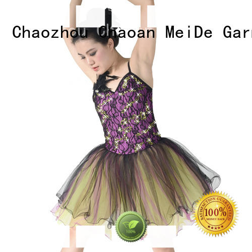 MIDEE performance toddler ballet leotards bulk production competition