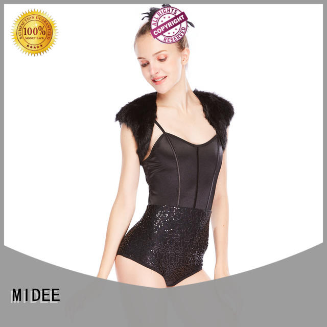 MIDEE jazz costumes for competition customization dancer