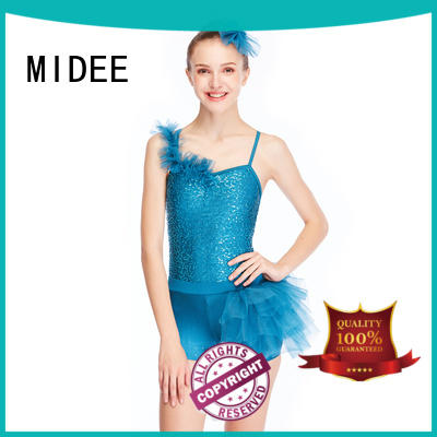 comfortable girls ballet outfit swan odm performance