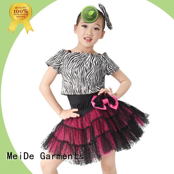 comfortable toddler ballet outfit tutu bulk production show