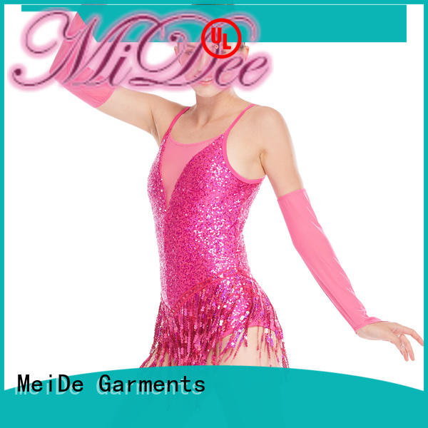 MIDEE odm jazz costumes for competition manufacturer show