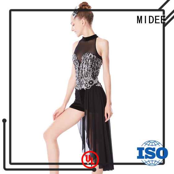 odm jazz dance dress fringe for wholesale competition