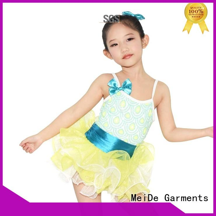 MIDEE adjustable kids ballet dress odm show