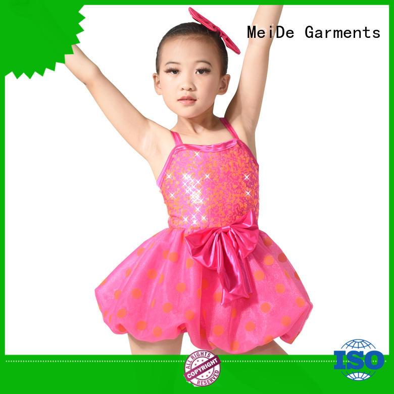 MIDEE adjustable ballet apparel highlow show