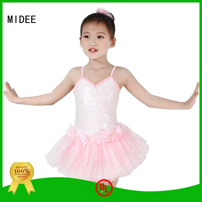 MIDEE adjustable kids ballet clothes bulk production performance