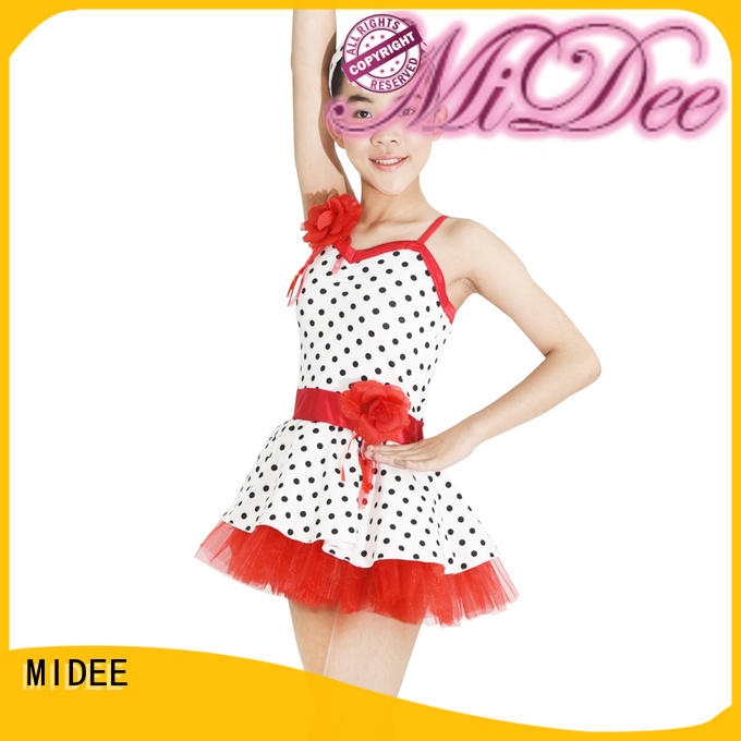top girls ballet clothes factory price competition MIDEE