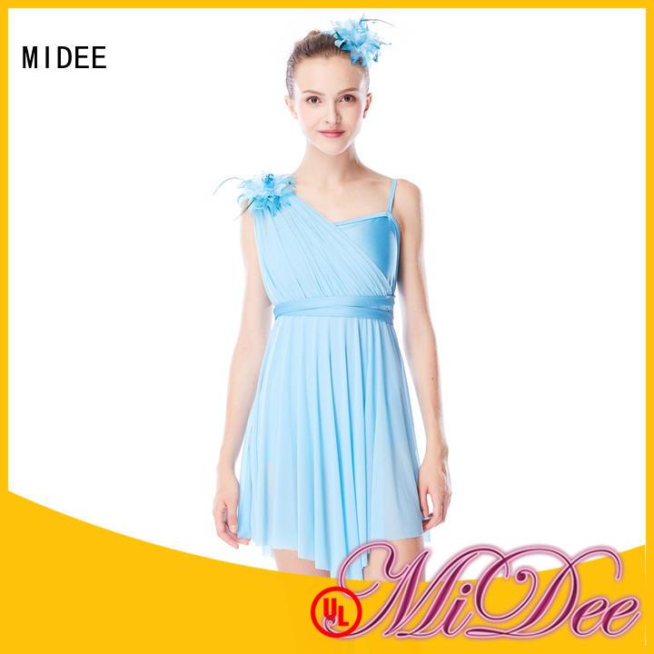 MIDEE elegant lyrical dancewear custom stage