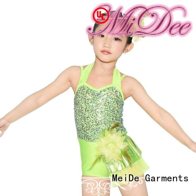 MIDEE comfortable toddler ballet leotards odm dance school