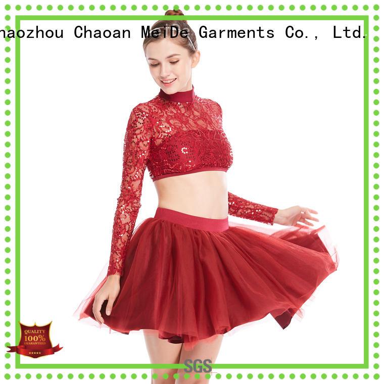 MIDEE anti-wear girls ballet clothes odm dance school