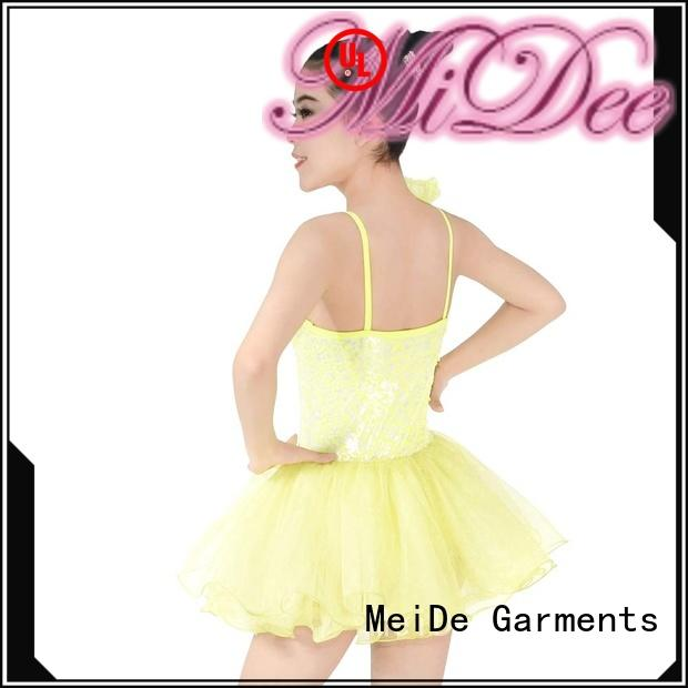 MIDEE swan ballet outfits factory price Stage
