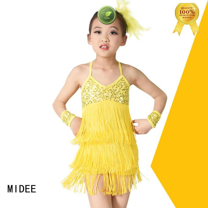 adjustable kids ballet outfit swan odm dancer