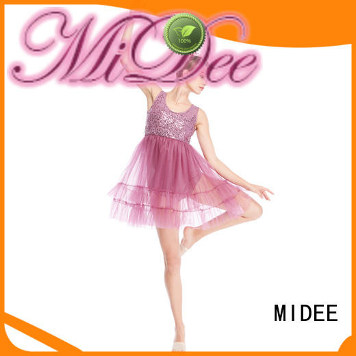 MIDEE asymmetric lyrical solo costumes custom stage