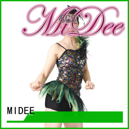 MIDEE professional dress tap jazz costumes dress dance school