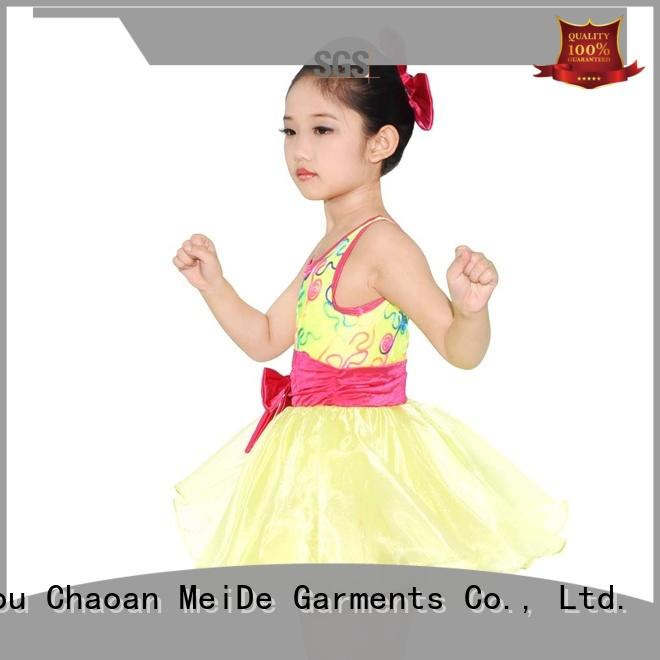 MIDEE sleeves girls ballet outfit bulk production show