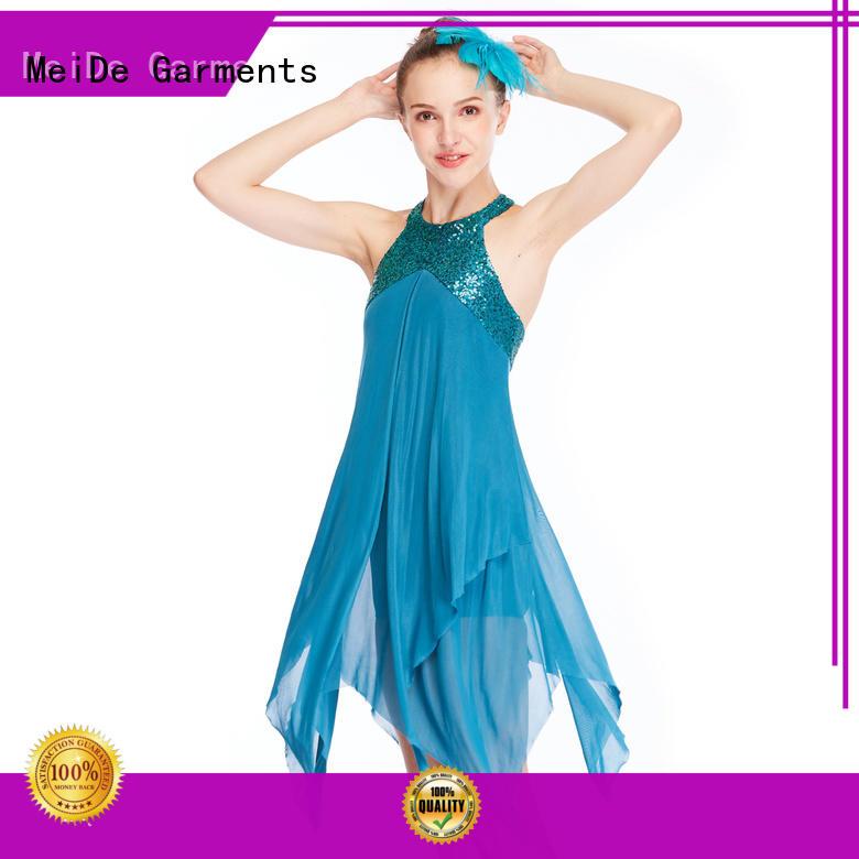 MIDEE OEM lyrical dance dresses custom performance