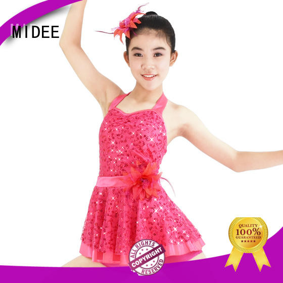 MIDEE swan kids ballet outfit bulk production Stage