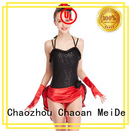 odm jazz outfits ladies costume manufacturer dance school
