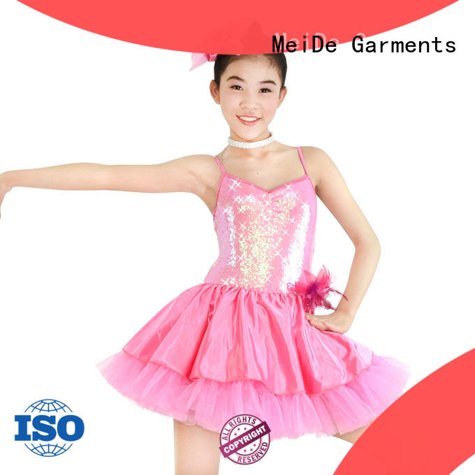 MIDEE comfortable ballet leotards for girls bulk production show