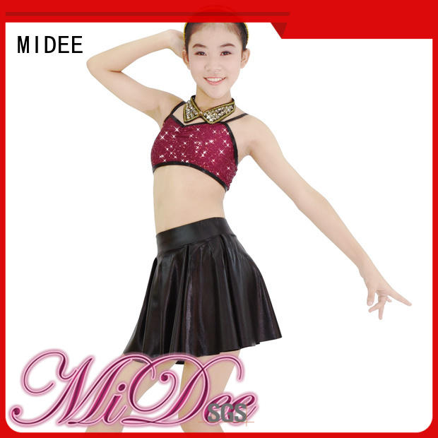 MIDEE dress jazz dance costumes for competition for wholesale dance school