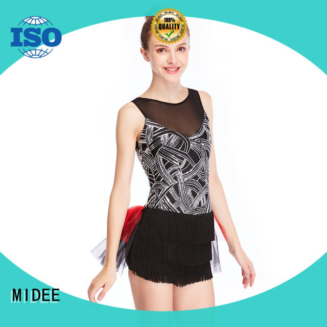 odm latin dance costumes top for wholesale dance school