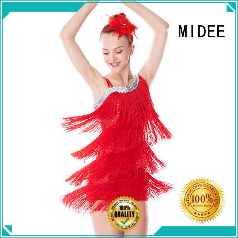 MIDEE jazz dance costumes jazz customization performance