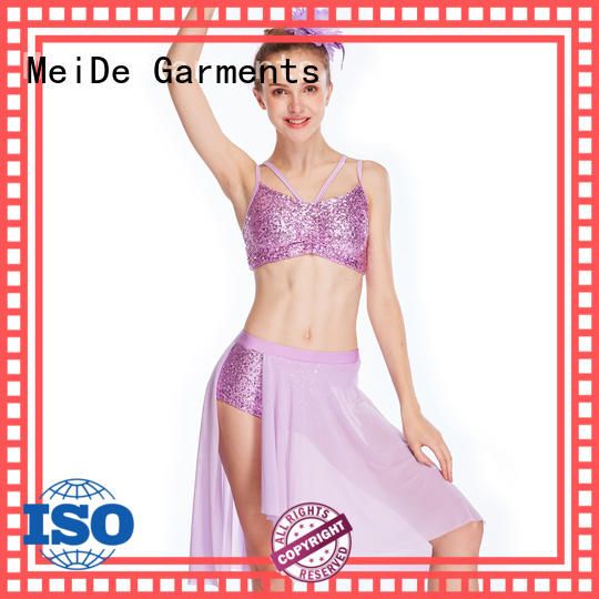 MIDEE customization lyrical skirt dance clothes show