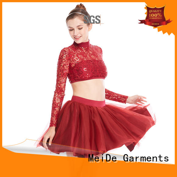 lace ballet leotards for girls odm show MIDEE
