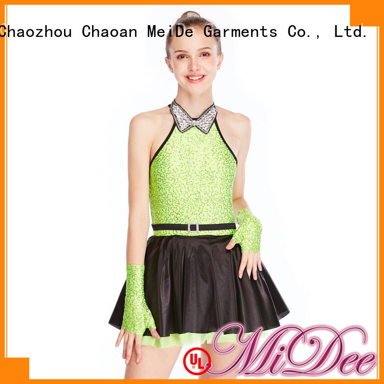 MIDEE odm jazz dance outfits customization dance school