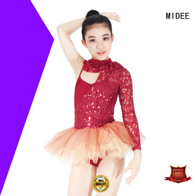 MIDEE Breathable dance performance wear buy now activities