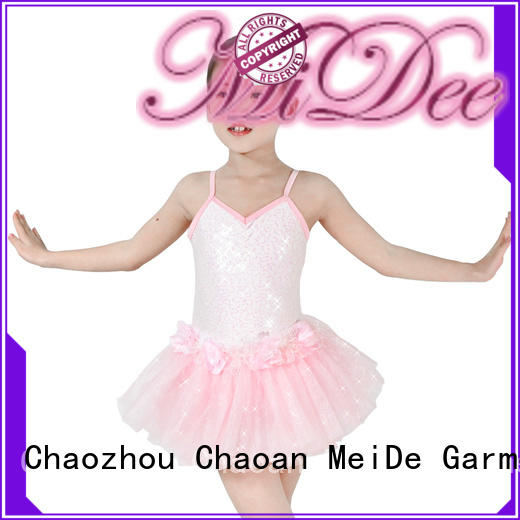 MIDEE dance girls ballet outfit factory price Stage