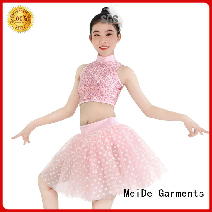 MIDEE anti-wear toddler ballet clothes factory price Stage