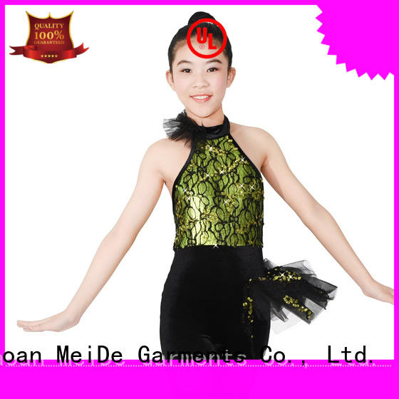 MIDEE white jazz dance costumes for wholesale show