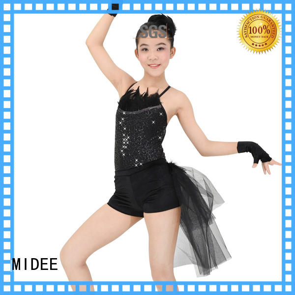 MIDEE lace girls ballet costume odm show