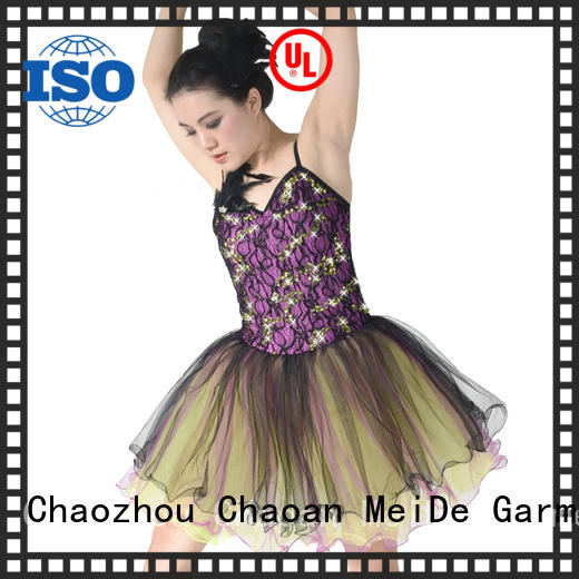 adjustable girls ballet costume joints odm show