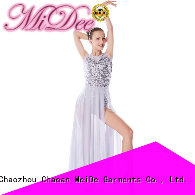 customization girls lyrical dance costumes sequined custom performance