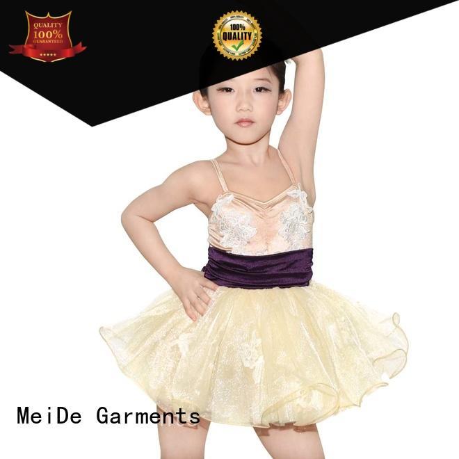 MIDEE comfortable ballet dress toddler bulk production show
