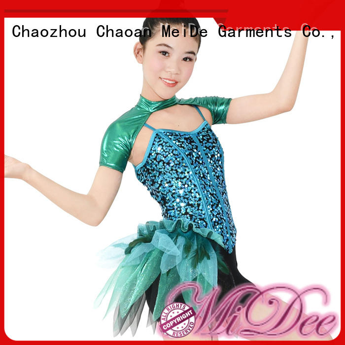 MIDEE floral jazz costumes for kids manufacturer dance school