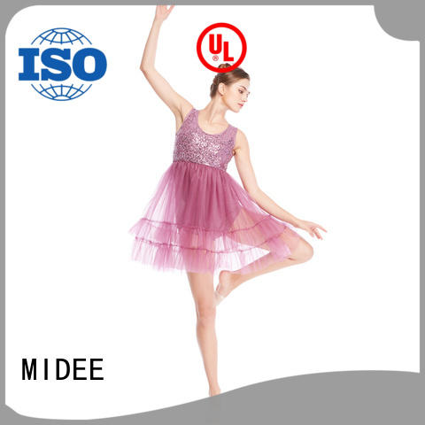 MIDEE OEM custom lyrical dance costumes dance clothes show