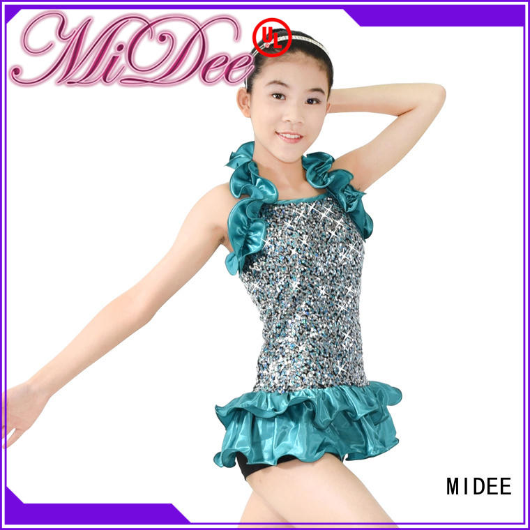 odm jazz dance outfits tie customization dance school