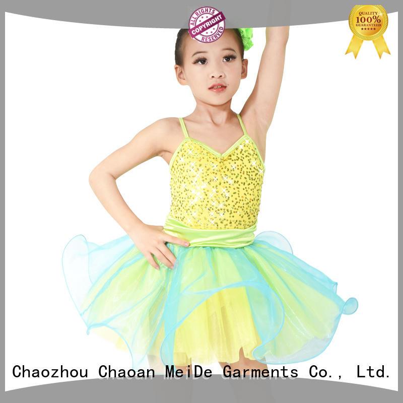 MIDEE anti-wear girls ballet costume odm show