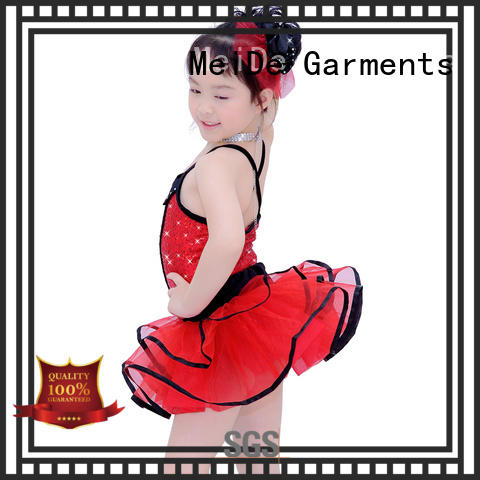 MIDEE anti-wear ballet uniform for toddlers top show