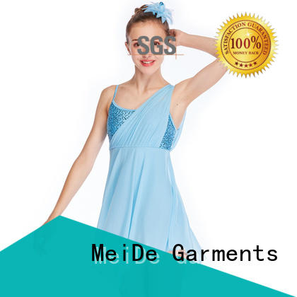 MIDEE OEM lyrical dance costumes dance clothes performance