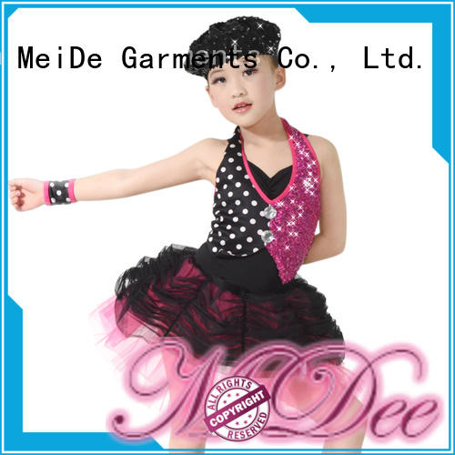 MIDEE comfortable kids ballet outfit bulk production Stage